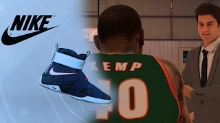 Shoe Endorsement Deal! Choosing Between Nike! Adidas!UnderArmor Or Jordan NBA 2k17 MyCareer