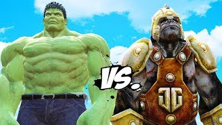 Incredible Hulk vs Gorilla Grodd - Epic Battle