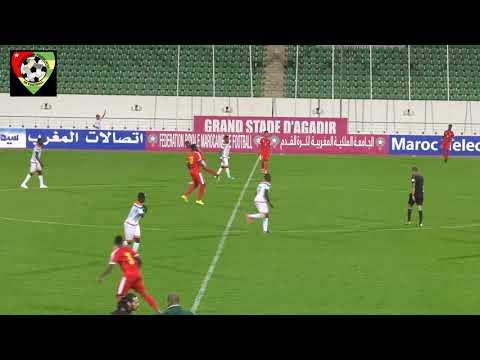 Match amical Togo Niger à Agadir au Maroc ( Temps forts)