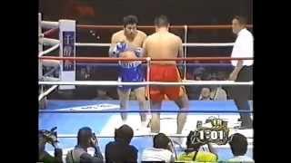K-1RISING2000の天田ヒロミとノブ・ハヤシの試合映像です。