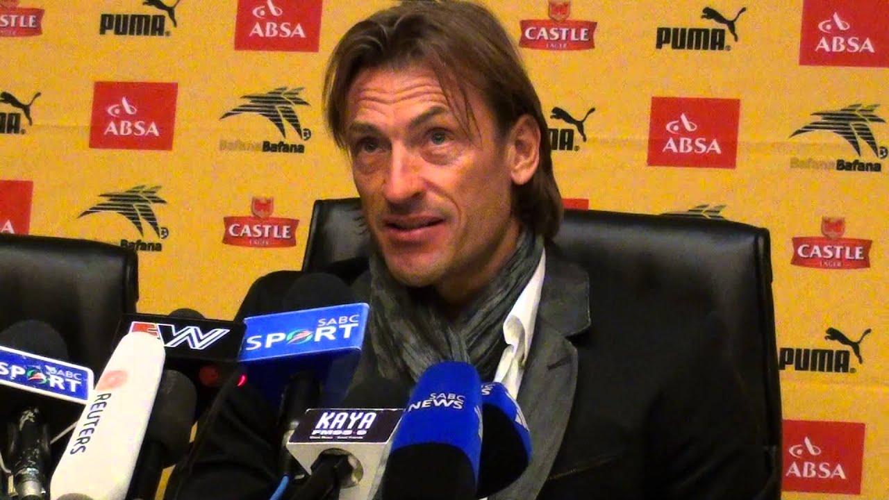 Wendy renard interview - Zambia Coach Herve Renard