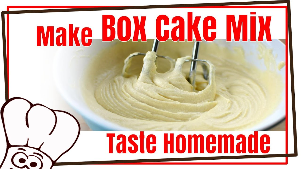 Make Box Cake Mix Taste Homemade Baking Buddy Hack