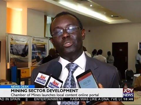 Mining Sector Development - Business Desk on Joy News (22-11-17)