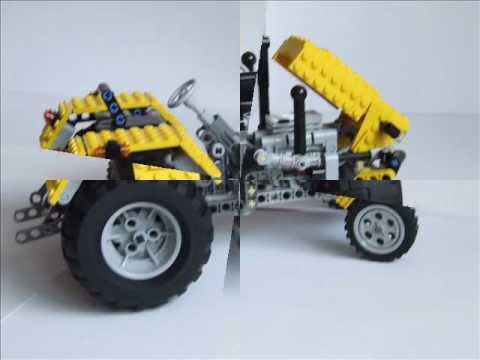 Lego Technic Tractor Ursus C 330 Youtube