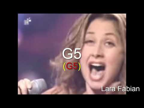 High Notes - G5 Battle - Female Singers