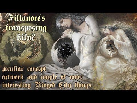 [Ringed City] Breaking Filianore's transposing kiln? + other peculiar things [Dark Souls III]