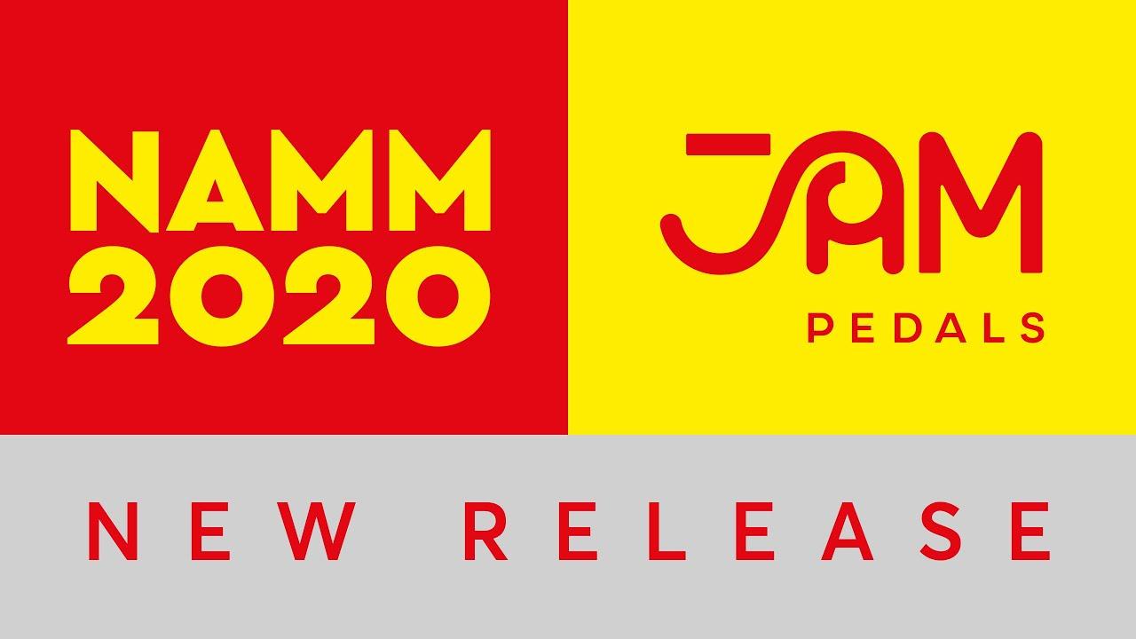 JAM pedals | Delay Llama Xtreme | NAMM 2020 release