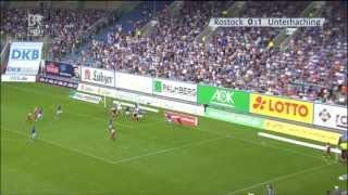 Hansa Rostock gegen SpVgg Unterhaching - 5. Spieltag 13/14 - Blickpunkt Sport
