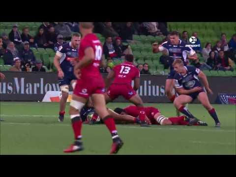 2017 Super Rugby Round 12: Rebels v Reds