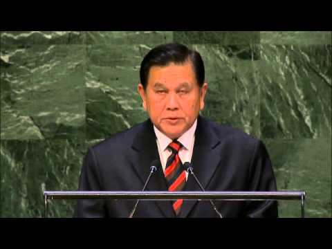 Thailand, General Debate, 69th Session to UN .. Sep. 27, 2014