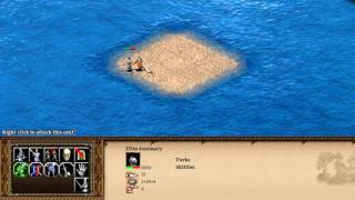 Turkish Elite Janissary vs Aztec Elite Eagle Warrior (AOE2HD)