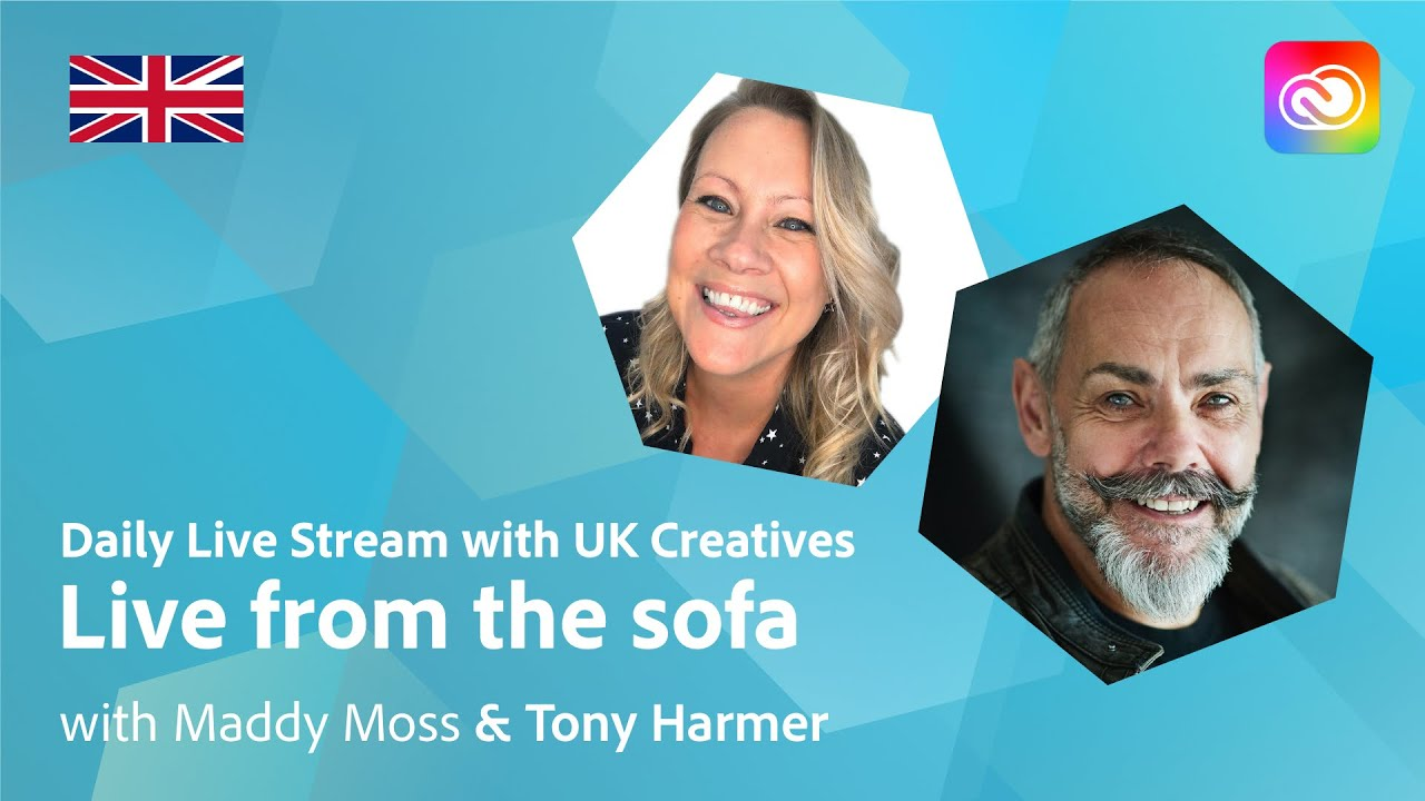 Live from the sofa with The Tony Harmer Show | Adobe Live