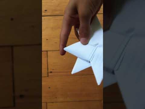 How To Make a double ninja star