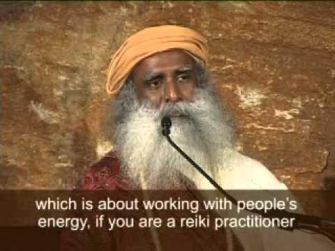 Sadhguru Why One Should not do Reiki to Avoid Karma