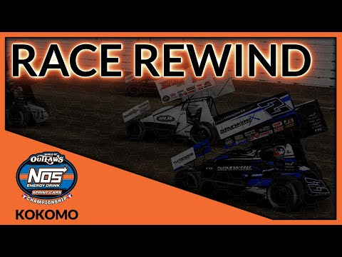World of Outlaws NOS Energy Drink World Championship   Race 6 - Kokomo   Race Rewind