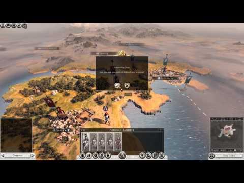 Cùng chơi Total War Rome 2 ( Legendary sparta campaign) Phần 1 : Đây là spartan