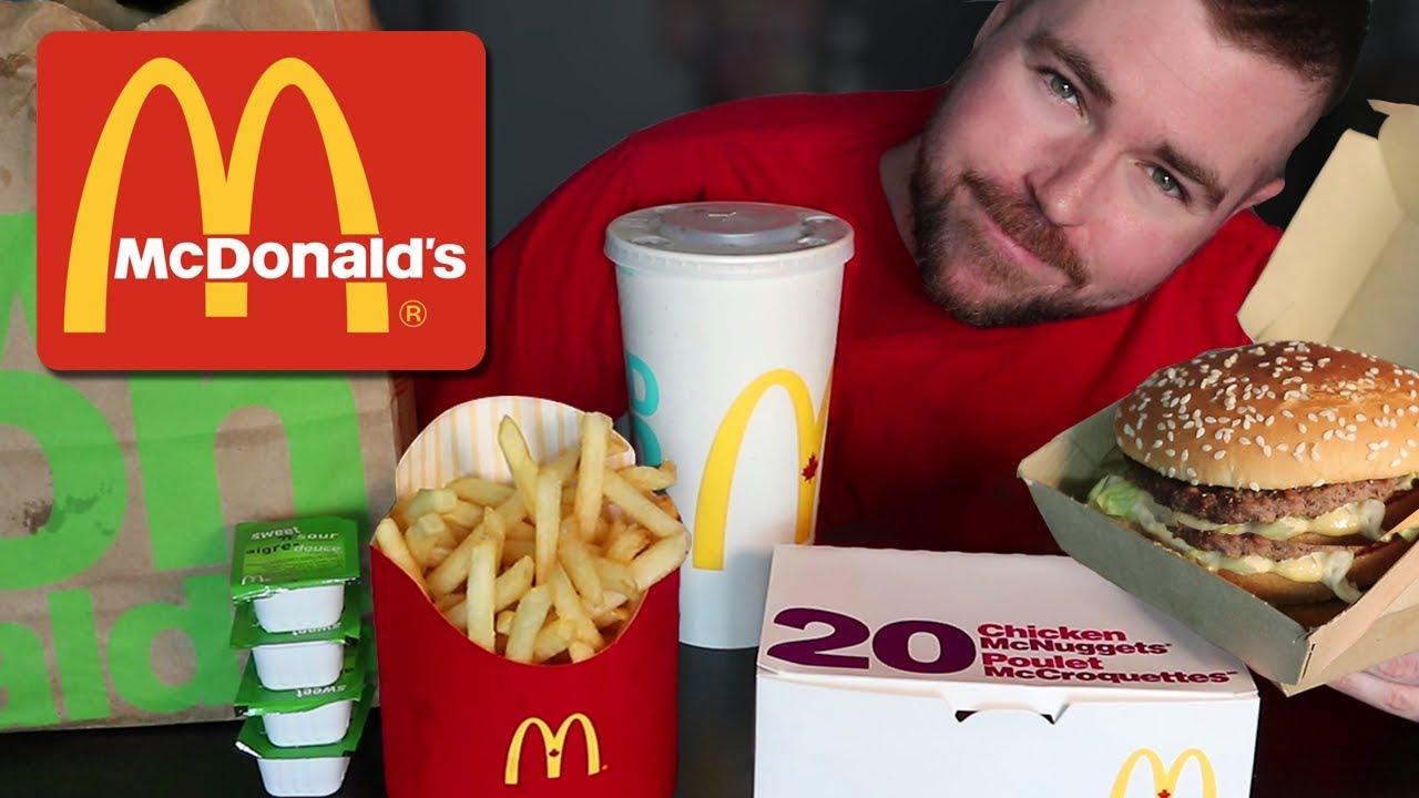 Asmr Mcdonalds Eating Sounds 20 Mcnuggets No Talking