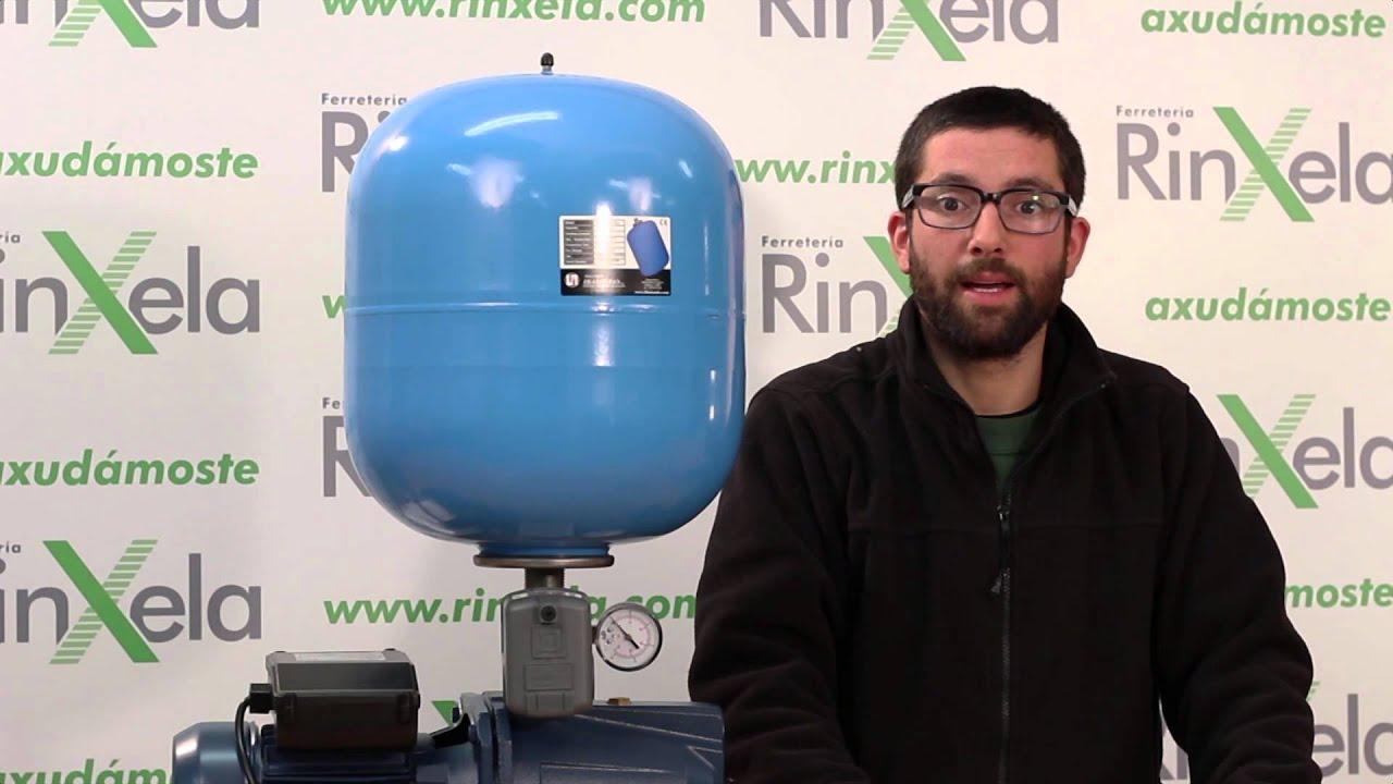 Componentes de un grupo de presi n para bomba de agua - Bombas de agua ...