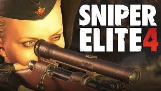 Sniper Elite 4, RK CLAN Анка пулеметчица