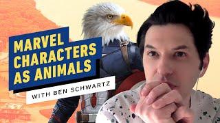 Marvel Characters as Animals with Ben Schwartz