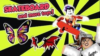 Proprietà Roblox . Aggiornamento di Meep City! Skateboard e Roller Blade recensione!