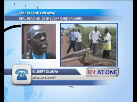 Amuru leaders sign land agreement with government for sugar plantations