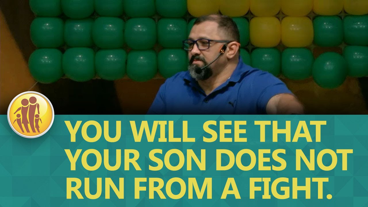 Set 04 2016 - You will see that your son does not run from a fight.