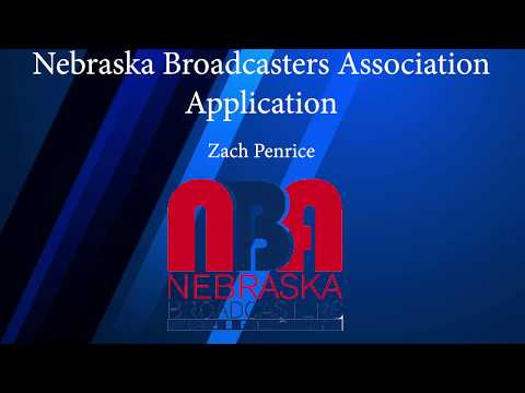 Nebraska Broadcaster's Association Application