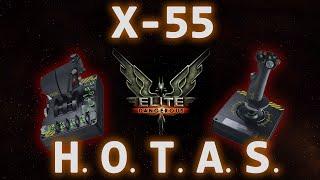 Saitek X-55 Rhino H.O.T.A.S. Review - Elite Dangerous Test