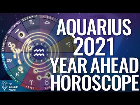 Aquarius 2021 Horoscope: