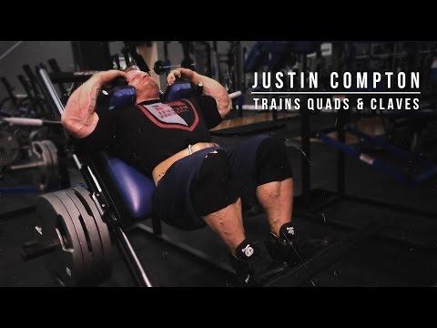 Justin Compton Trains Quads & Calves | Iron Rebel