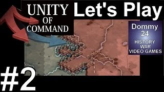 AG Center 1 Minsk Attack | Unity of Command Black Turn Lets Play 1080p HD