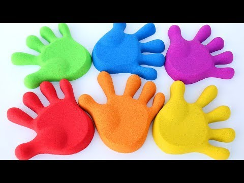 Thumbnail: Learn Colors Kinetic Sand Fingers Family Play Doh Fish Kids Video