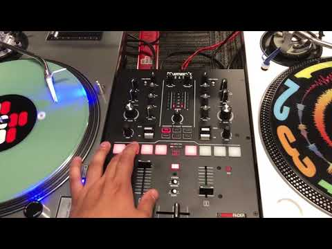 "DJ Divine Justice demos Numark's ""Scratch"" Battle Mixer mapped to Rekordbox DJ!!!"