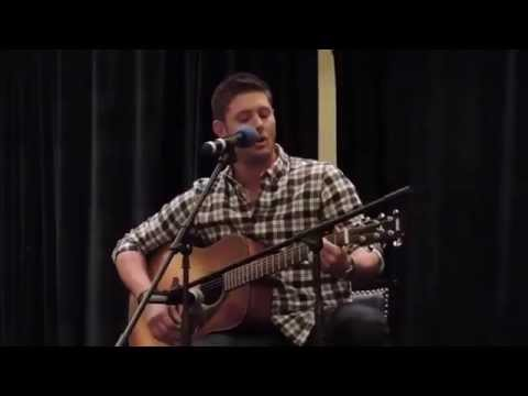 Over 40 minutes of Jensen Ackles singing