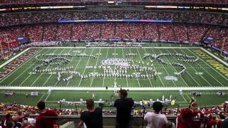 WVU vs Alabama - WVU Band Halftime Performance
