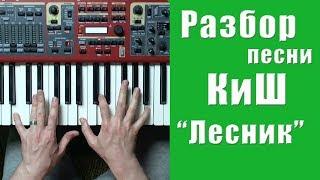 Король и Шут - Лесник - разбор на пианино | кавер - Уроки фортепиано