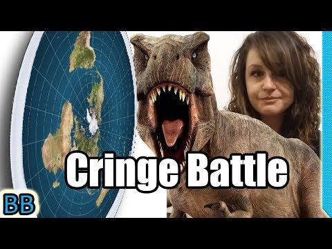 Cringe Battle: Flat Earth Vs Fake Dinosaurs! thumbnail