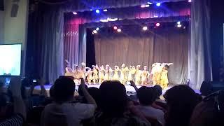 Дети которым 3года танцуют узбекский