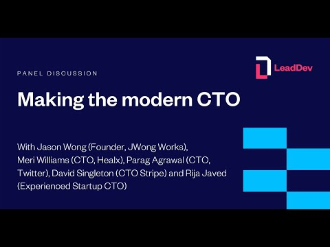 Making the modern CTO | Panel discussion