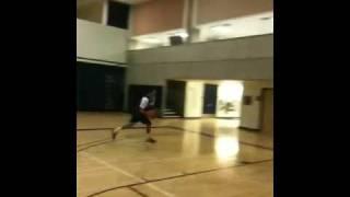 Michael Purdie Dunking Video
