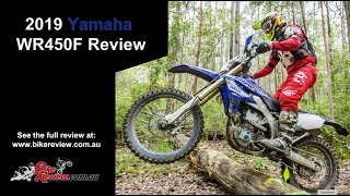 2019 Yamaha WR450F Full Review