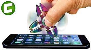 СПИННЕР 1000 MPH VS IPHONE / МОЖЕТ ЛИ СПИННЕР СЛОМАТЬ АЙФОН?