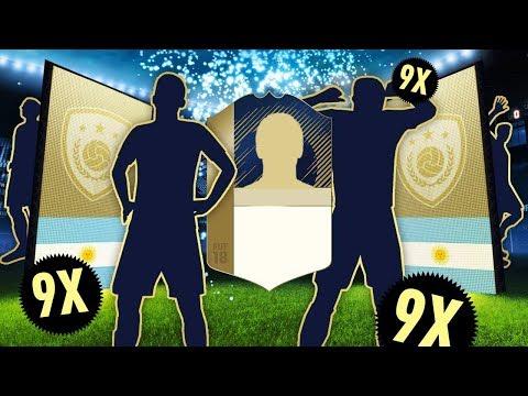 9 PACZEK Z IKONĄ! CO ZA TRAFY! | FIFA 18