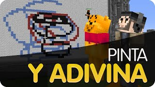 "¡Pinta y Adivina! ""LA REINA"" | Minecraft"