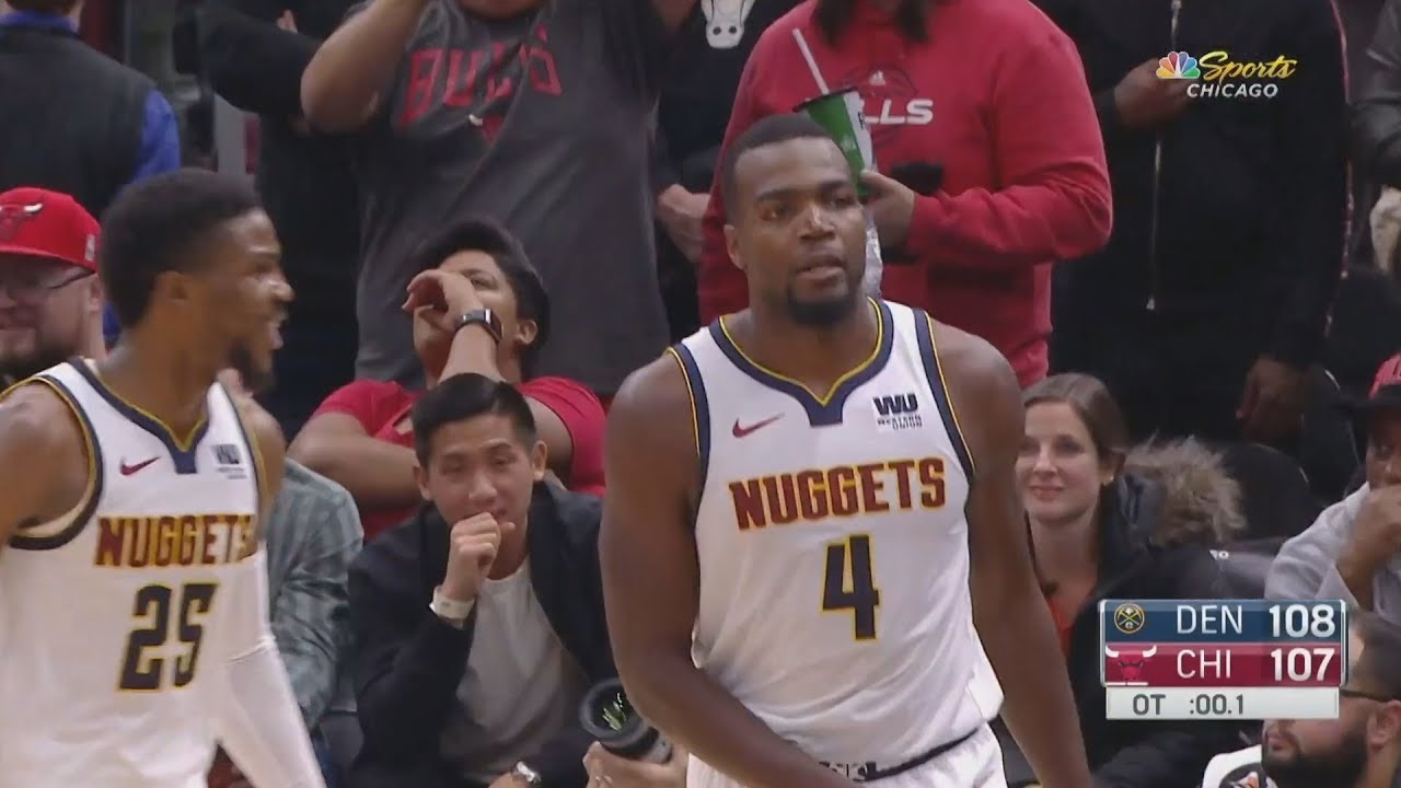 Paul Millsap Game Winner in OT vs Bulls! 2018-19 NBA Season - YouTube 72f80cafe3c