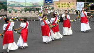 Bulaklakan Dance - FJCC 2010 Israel Rejoicing