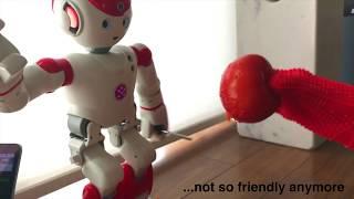 UBTech Alpha 2 turns Chucky