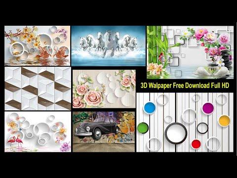 3D Wallpaper Full HD Pack 01 Free Download