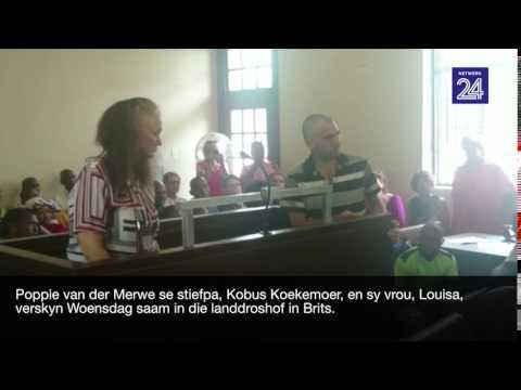 Kobus en Louisa Koekemoer in die hof